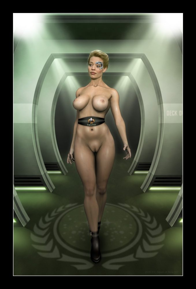 Suggest you Star trek seven of nine porno