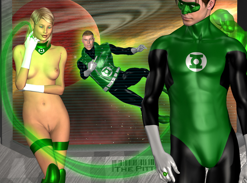 Pity, that Green lantern female xxx final