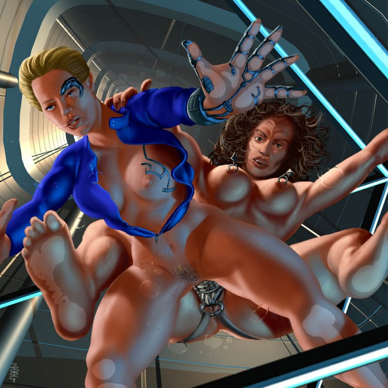 Star trek seven of nine porno brilliant