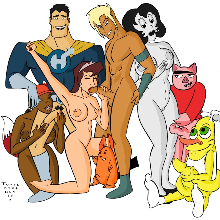 drawn together orgy