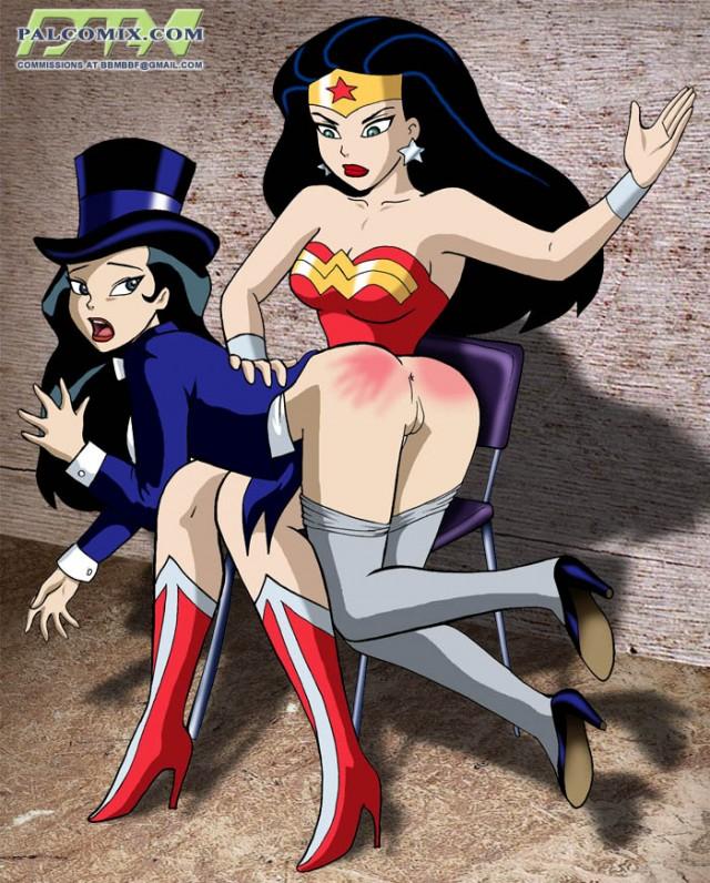 4398 - DC DCAU Justice_League PalComix Wonder_Woman Zatanna bbmbbf