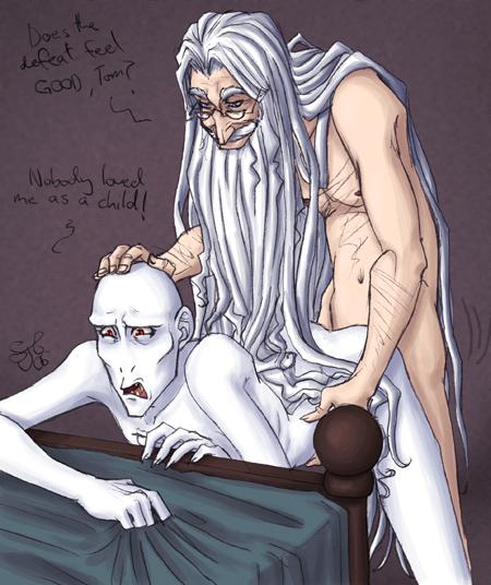 harry potter porn Dumbledore