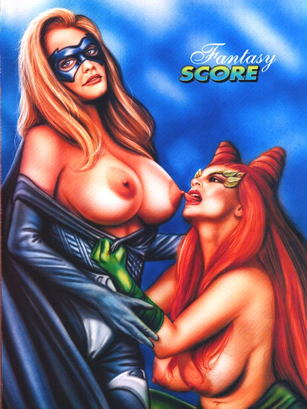 Poison ivy and batgirl porn dream fuck