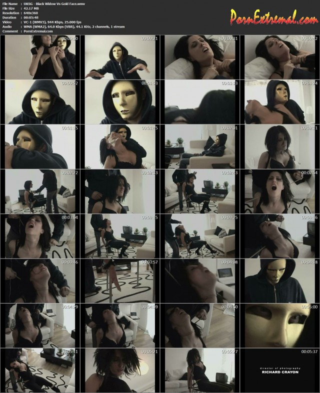 UKSG - Black Widow Vs Gold Face