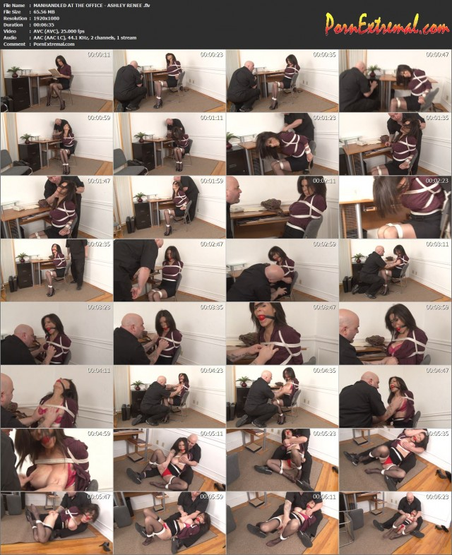 MANHANDLED AT THE OFFICE - ASHLEY RENEE