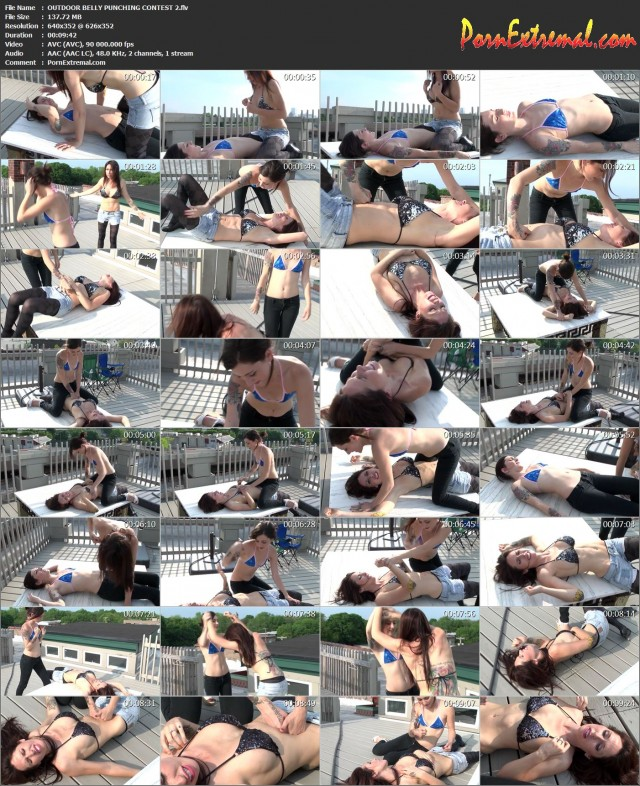 OUTDOOR BELLY PUNCHING CONTEST 2
