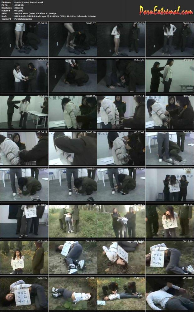 Female Prisoner Execution