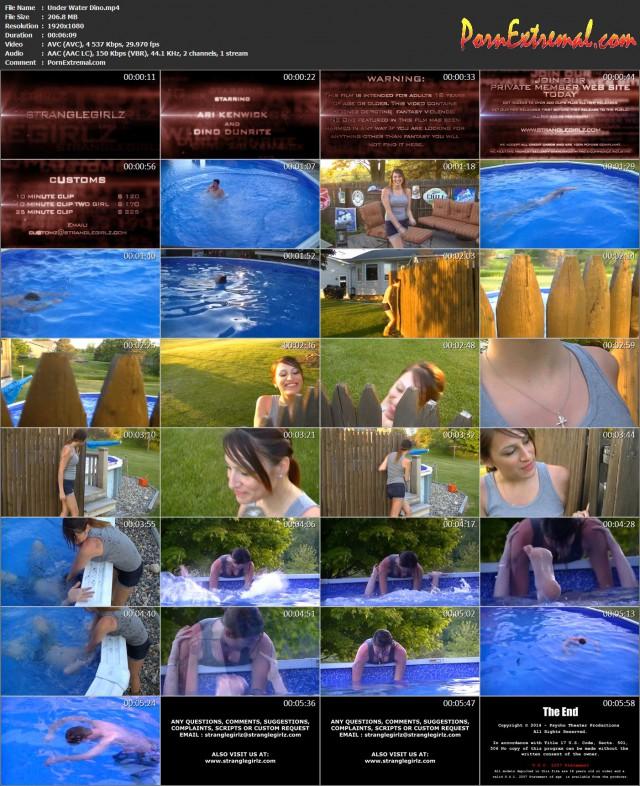 StrangleGirl(z) – Under Water Dino