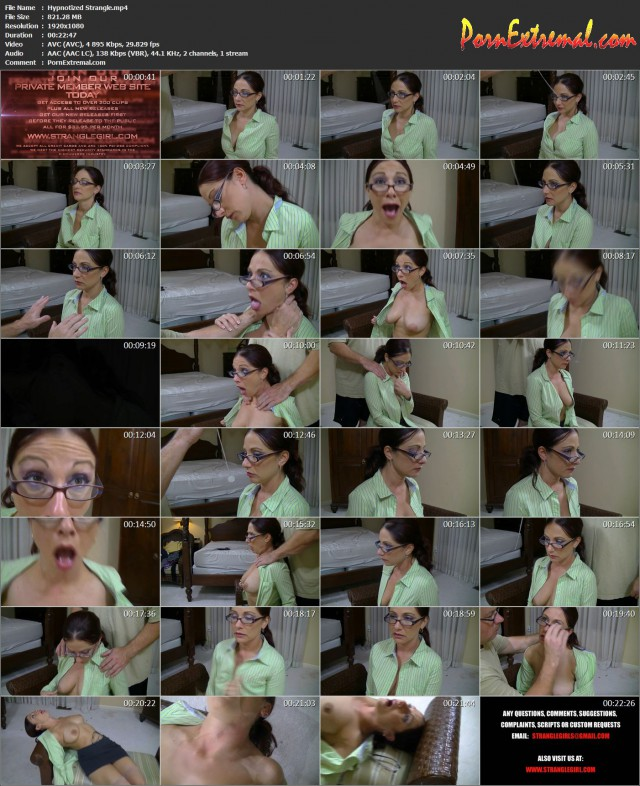 StrangleGirl(z) – Hypnotized Strangle