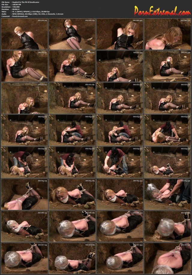 HuntersHorror – Hogtied In The Pit Of Death