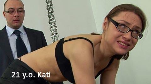 SpankingThem – 21 yo Kati teacher and 22 yo Kristina – College teacher public humiliation and spanking