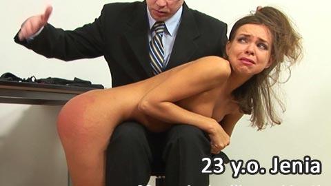 SpankingThem – 23 yo Jenia with soooo innocent face