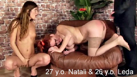 SpankingThem – 27 yo Natali and 26 yo Leda – Two office ladies punished for the bad deeds