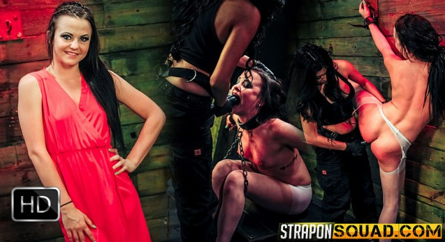 StrapOnSquad [FetishNetwork] – Brooklyns Daniels Slave Training Continues with Mila Blaze & Lexy Villa