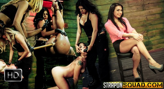 StrapOnSquad [FetishNetwork] – Isa Mendez Still in her BDSM Strapon Training Session with Mila Blaze & Lexy Villa