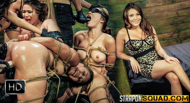StrapOnSquad [FetishNetwork] – Mena Li Needs More Slut Training with Lexy Villa & Mila Blaze