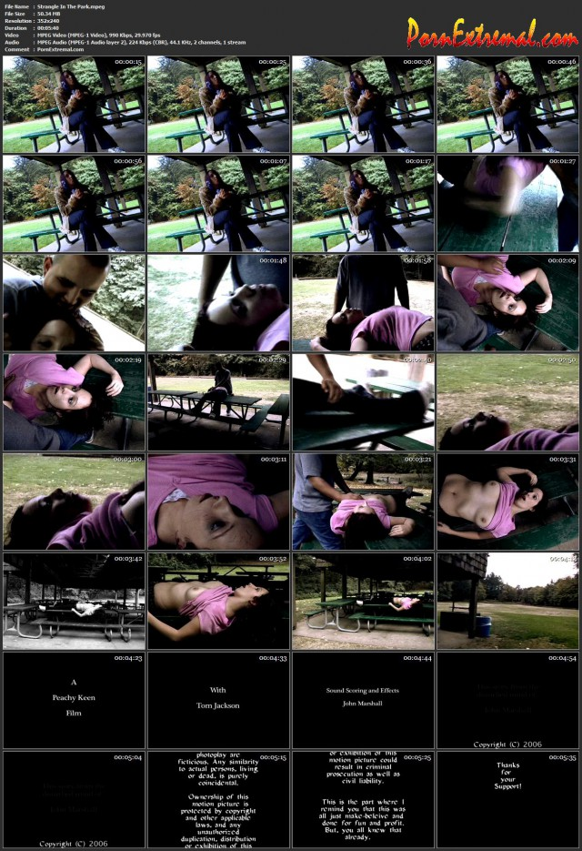 Peachy Keen Films – Strangle In The Park
