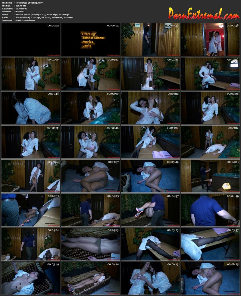 Agasverus - Two Nurses Shooting