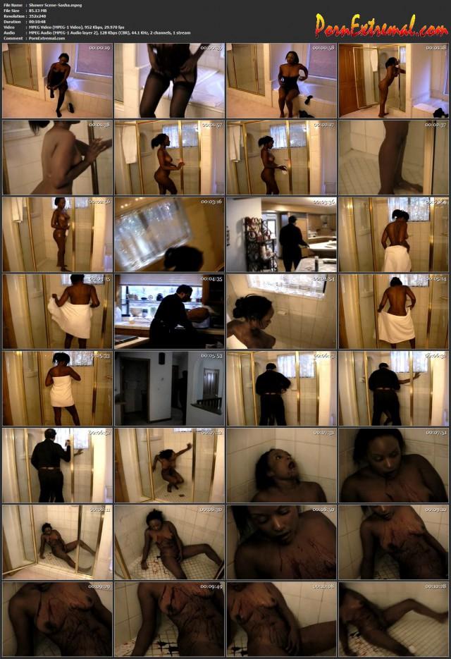 Shower Scene-Sasha