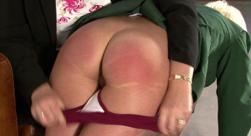 SlutSpanking – THE SLIPPER FOR KATIE