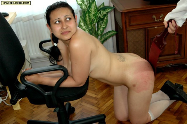 Spanked-Cutie – THE WRONG TYPE OF HOMEWORK