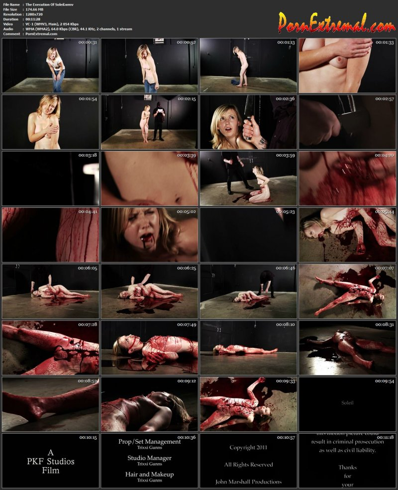 Peachy Keen Films - The Execution Of Soleil