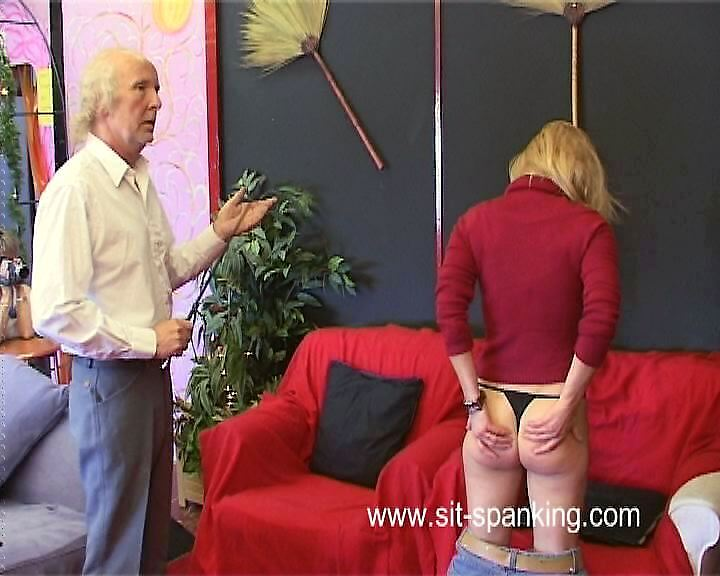 Sit-Spanking – Punished By Uncle Robert