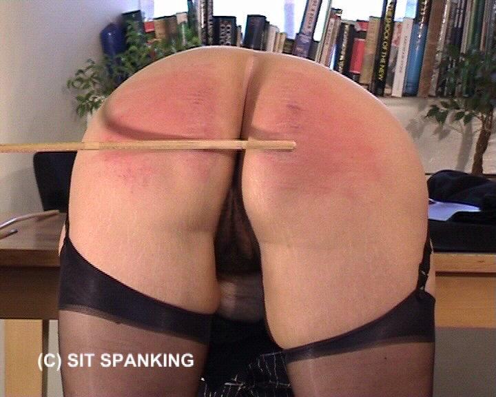 Sit-Spanking – Teacher Taught Again Part 1-2