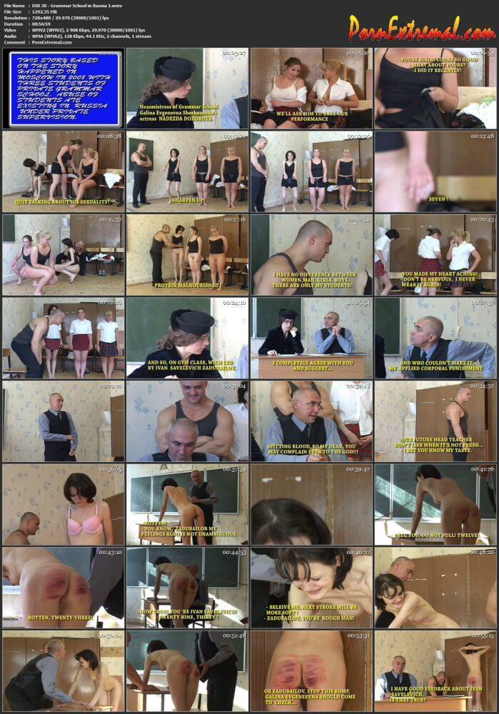 Discipline In Russia - DIR 30 - Grammar School in Russia 1
