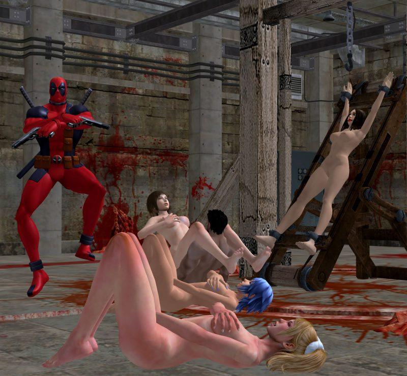 Resident evil bdsm porn scene