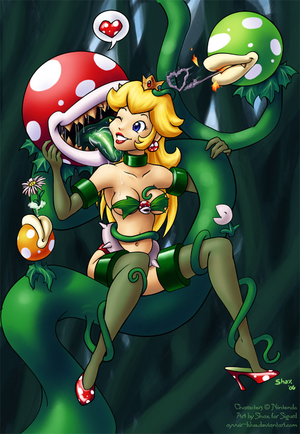 Princess Peach And Piranha Plant Hentai