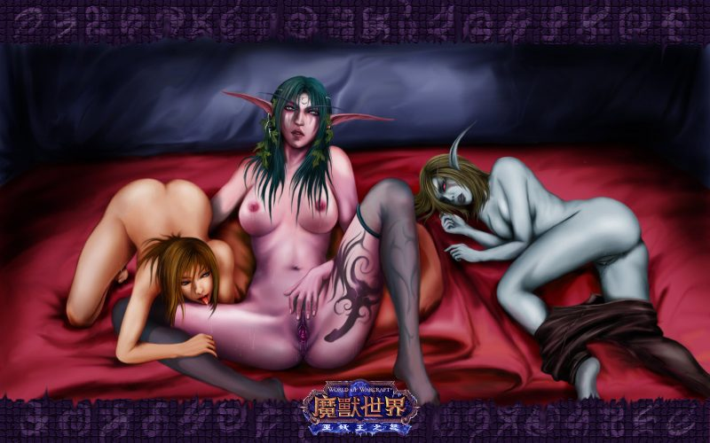 Sylvanas with tyrande nude pron reality slut