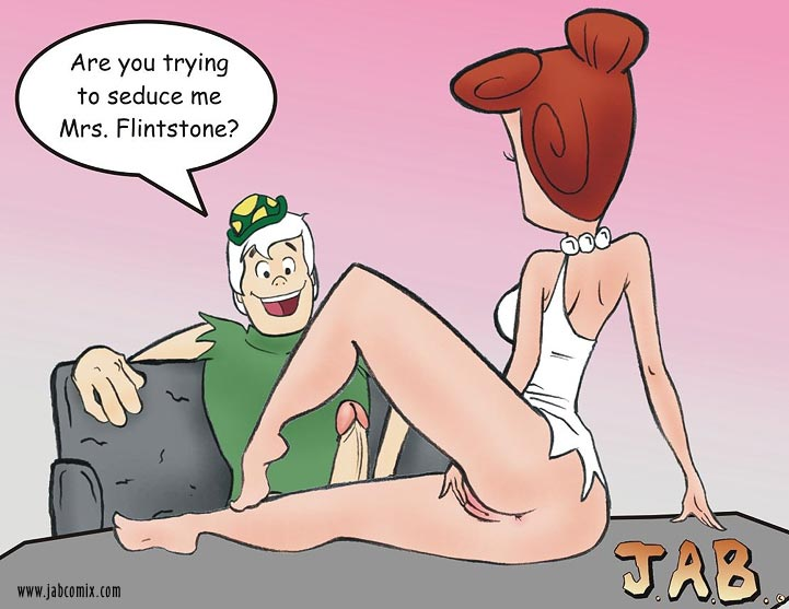 The Flintstones Pebbles And Bamm Show Wilma Flintstone Jab