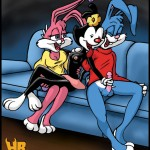 546 - Animaniacs Babs_Bunny Buster_Bunny Dot_Warner Hentai_Boy Looney_Tunes Tiny_Toon_Adventures crossover