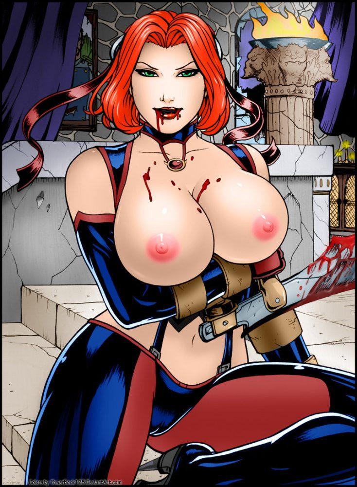 Порно пародие на блудрейн фото 566-711