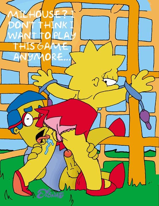 spank Marge simpson