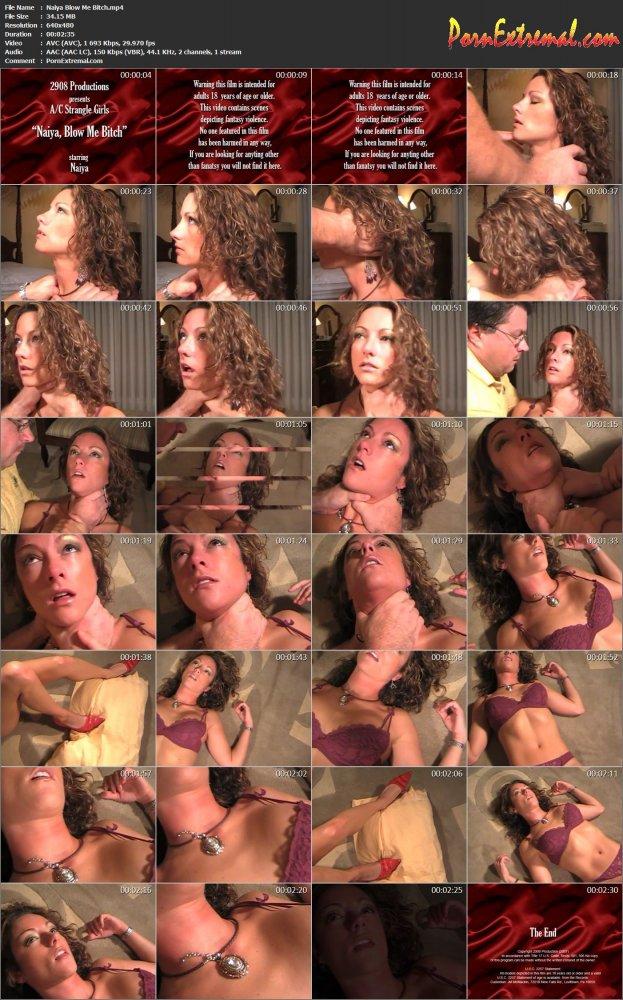 StrangleGirl(z) – Naiya Blow Me Bitch