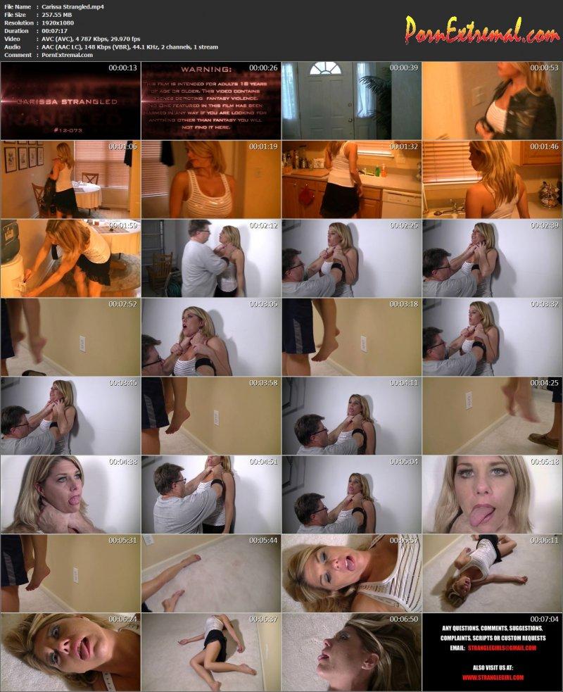 StrangleGirl(z) – Carissa Strangled