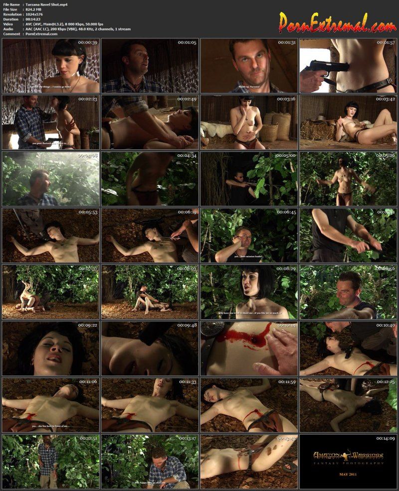 Amazon-Warriors – Tarzana Navel Shot