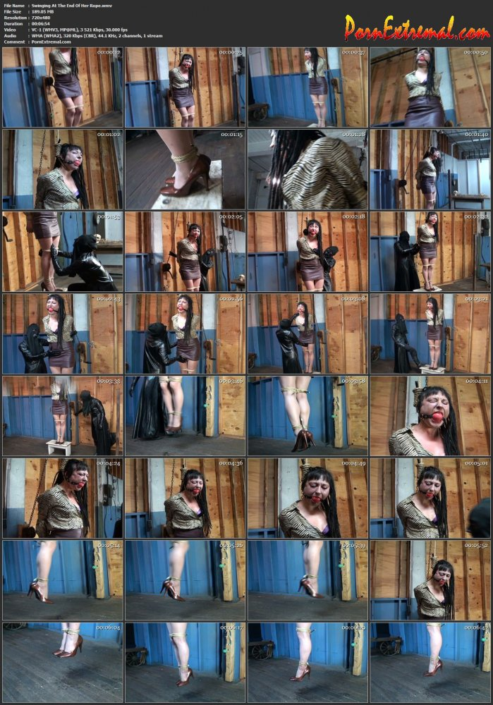 HuntersHorror – Swinging At The End Of Her Rope