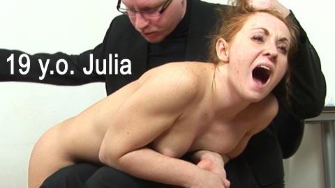 SpankingThem – 19 yo Julia