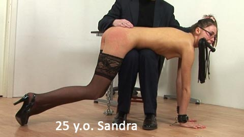 SpankingThem – 25 yo Sandra – Some teachers must be taught too