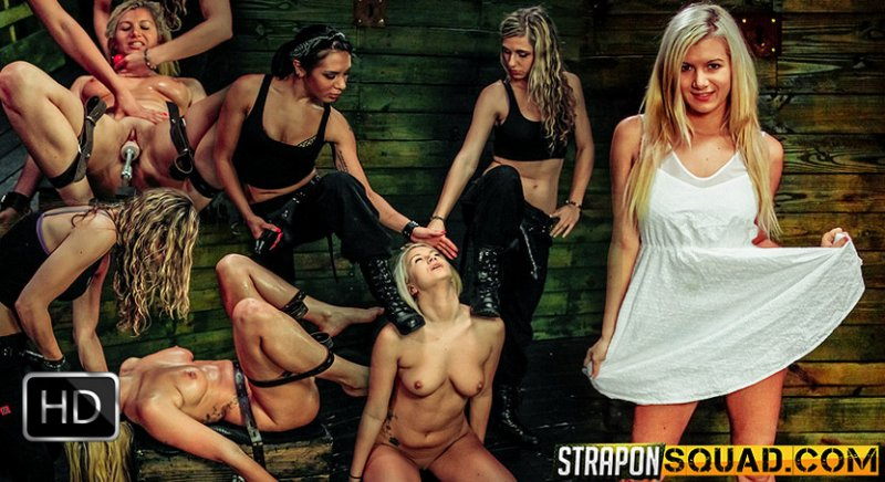 StrapOnSquad [FetishNetwork] – Fucking Machine Lesbian Domination for Layla Price with Isa Mendez