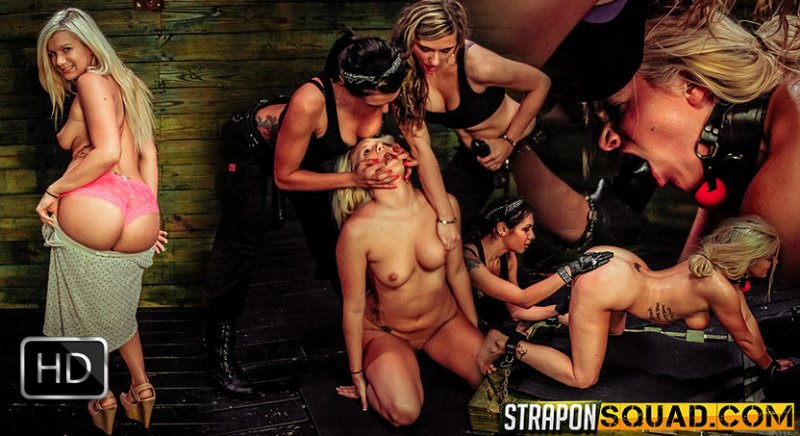StrapOnSquad [FetishNetwork] – Girl Next Door Layla Price Gets Bound & Dominated by Isa Mendez