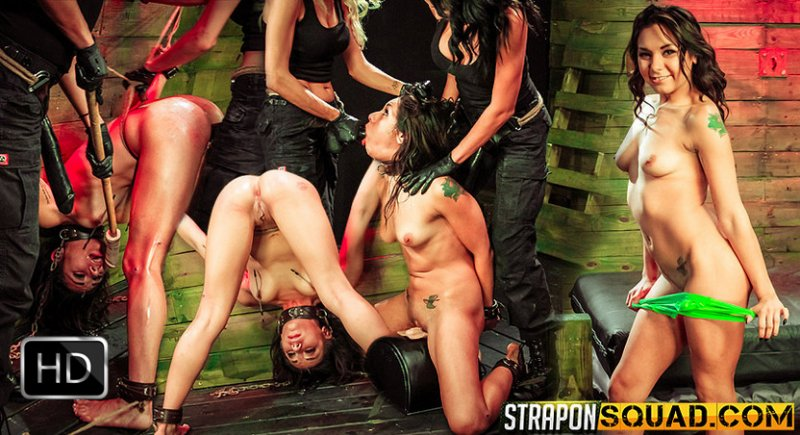 StrapOnSquad [FetishNetwork] – Isa Mendez Earns Another Lesbian Domination 3some with Mila Blaze & Ava Kelly