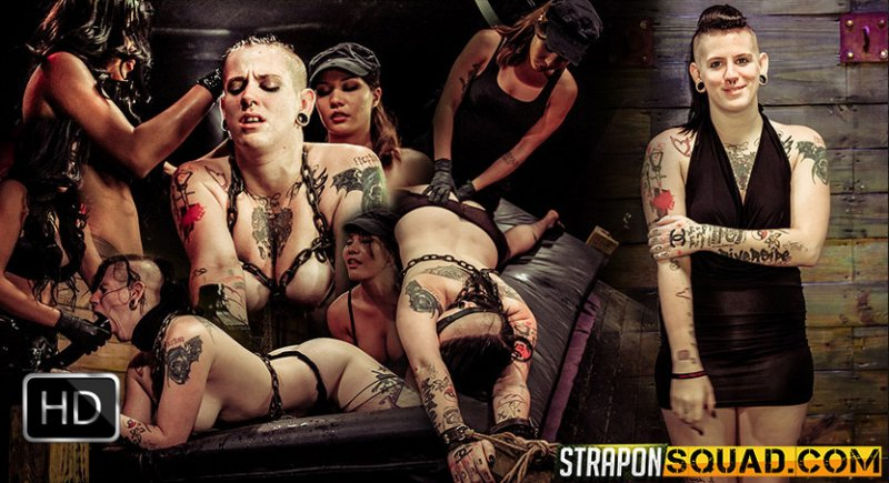 StrapOnSquad [FetishNetwork] – Jynx Hollywood Begs for Double Penetration with Mena Li and Lexy Villa