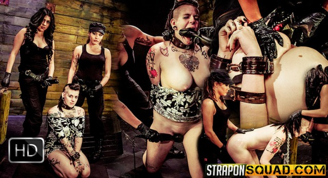 StrapOnSquad [FetishNetwork] – Jynx Hollywood Chained to the Sybian by Mena Li & Lexy Villa