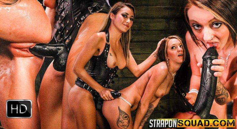 StrapOnSquad [FetishNetwork] – Kendra Cole Worship's Marina Angel's Strapon Dildo