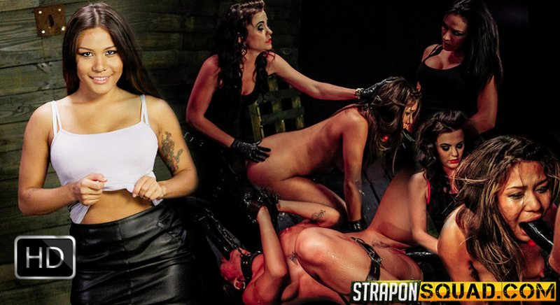 StrapOnSquad [FetishNetwork] – Mena Li is Addicted to Lesbian Domination with Brooklyn Daniels & Ava Kelly