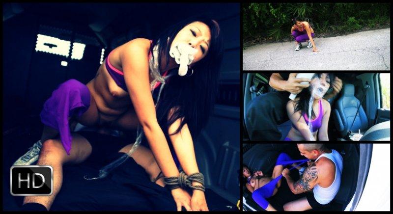 HelplessTeens [FetishNetwork] – Miko Dai's Running Injury Turns into Outdoor Rope Bondage, Deepthroat BJ, Rough Sex